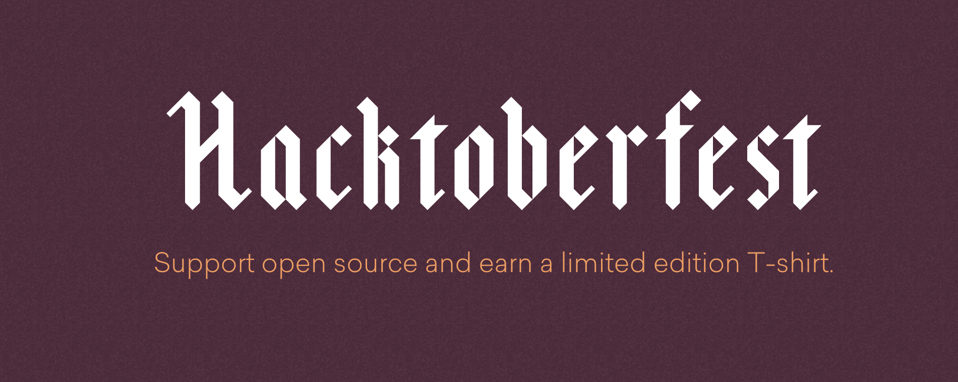 Hacktoberfest from DigitalOcean
