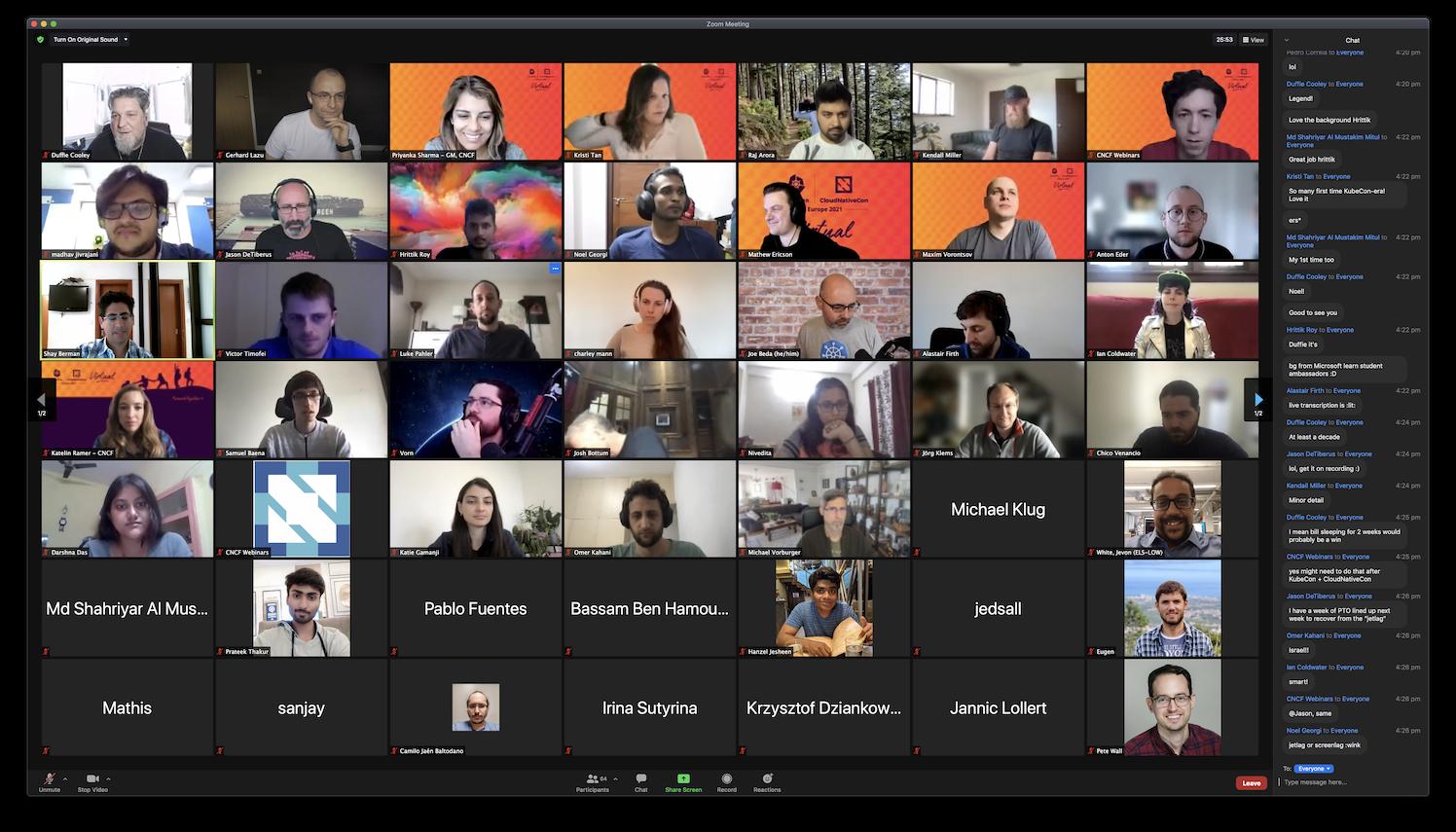 KubeCon + CloudNativeCon Europe 2021 - AMA Happy Hour with Priyanka Sharma