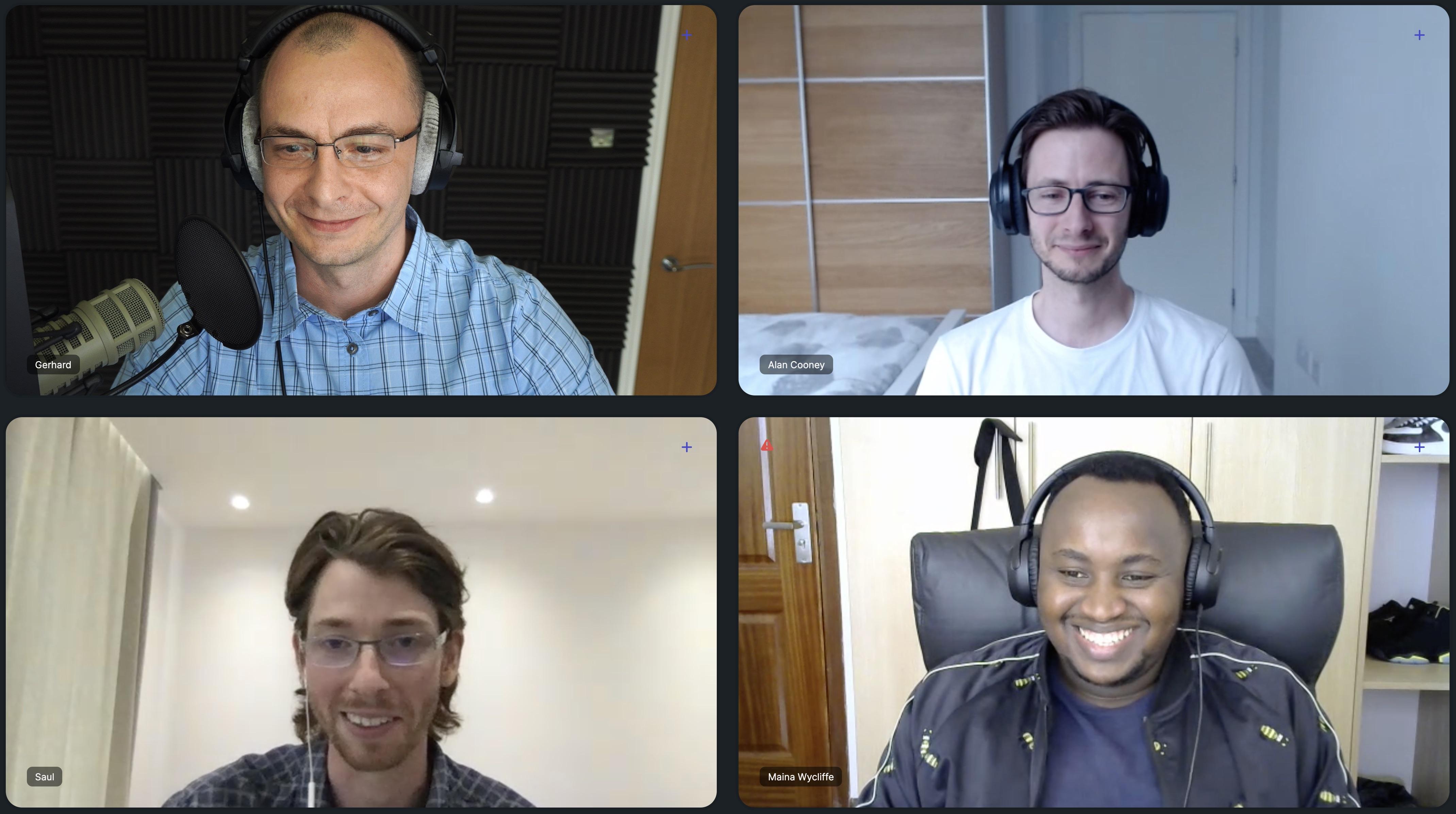 Gerhard, Alan, Saul & Wycliffe