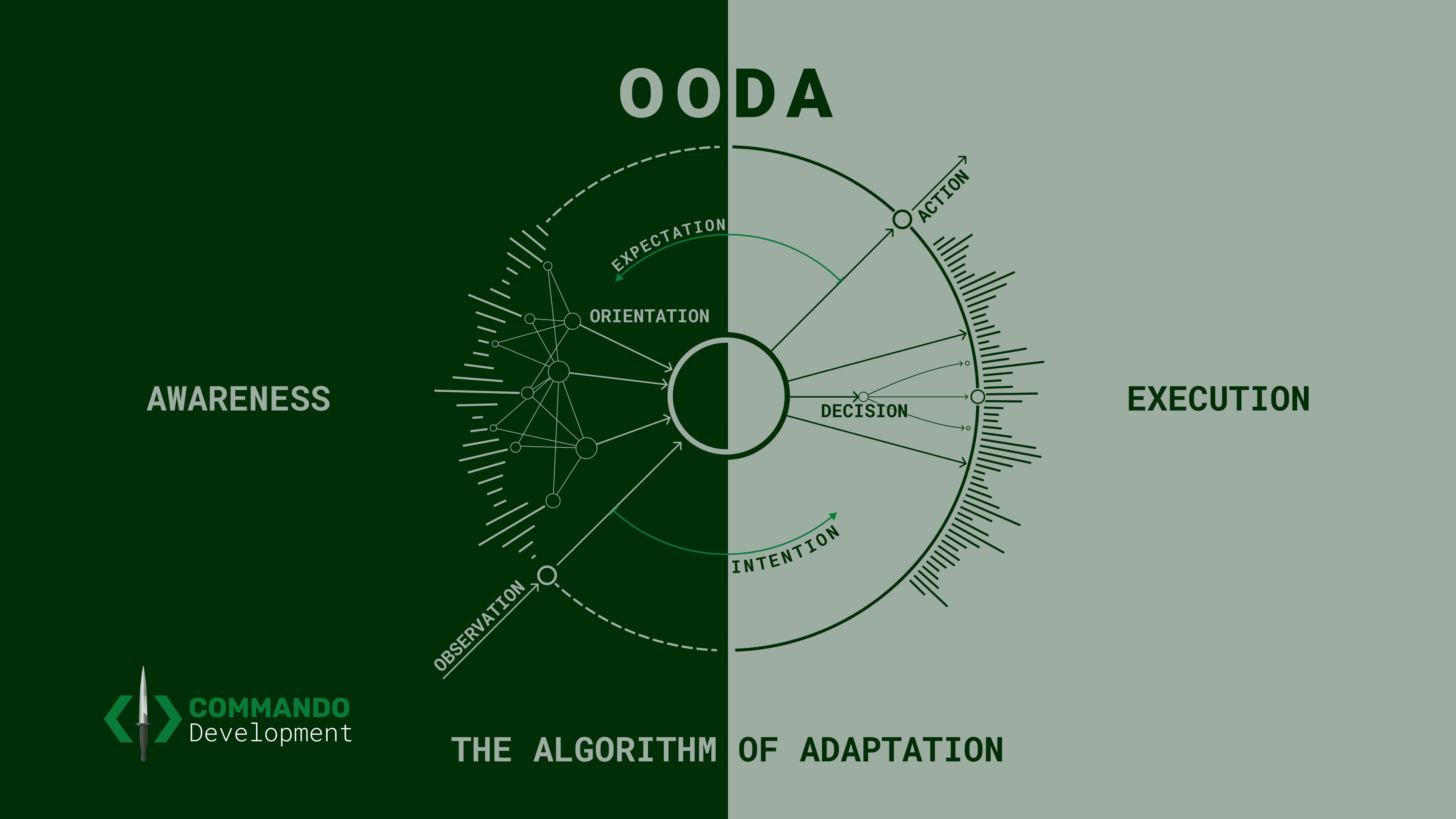 The OODA diagram that is easiest to remember